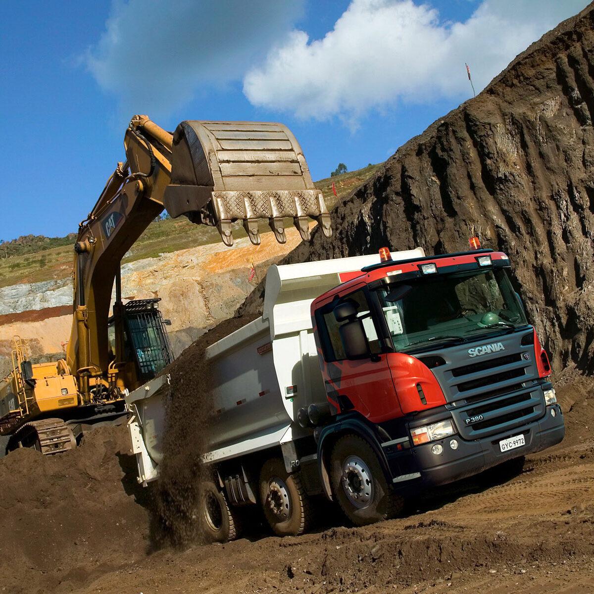 Гидравлика на тягач Scania