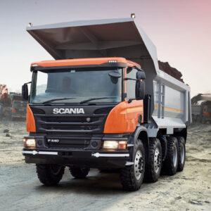Гидравлика на тягач Scania (Скания)