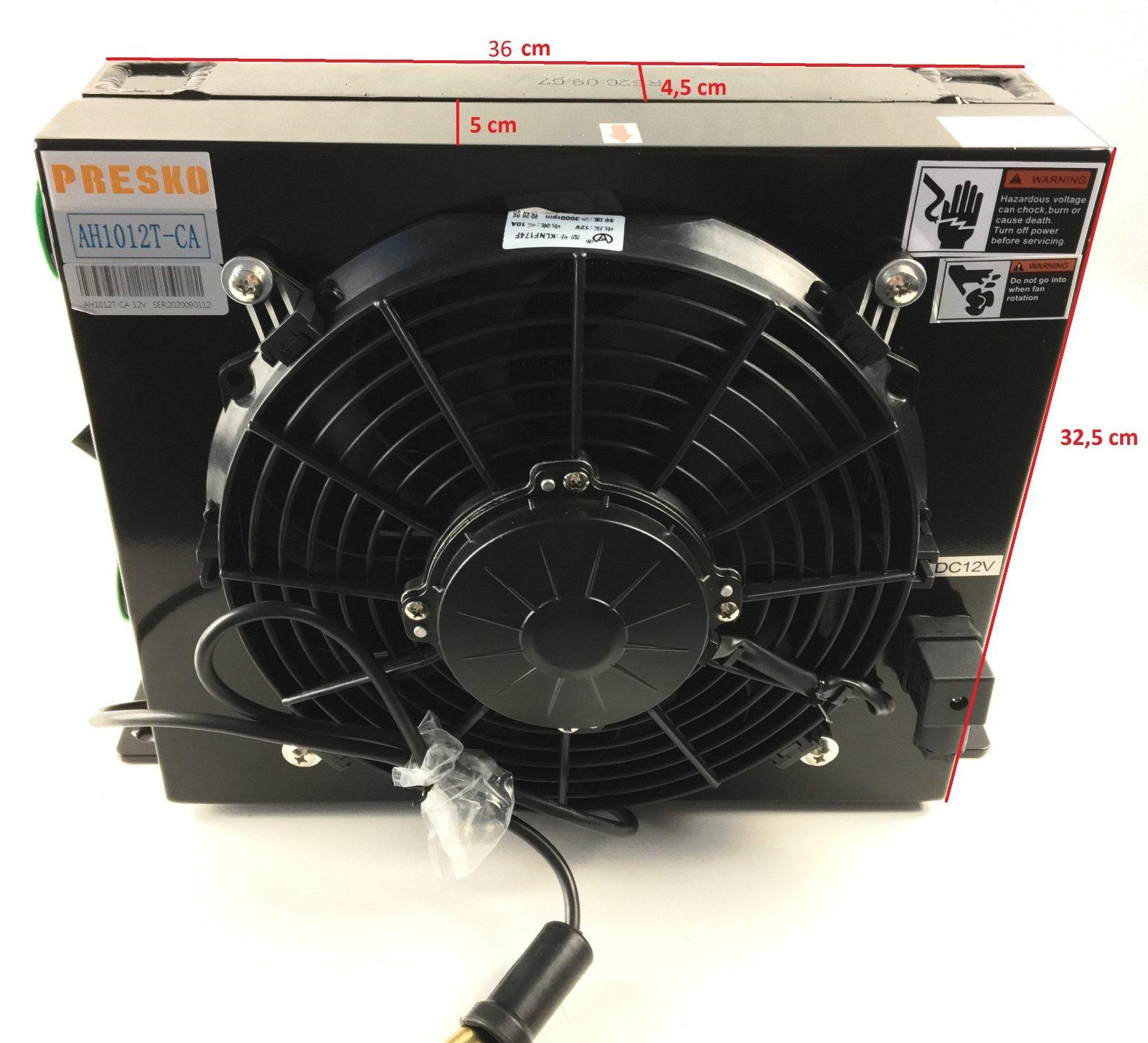Охладитель гидравлического масла (радиатор, теплообменник)