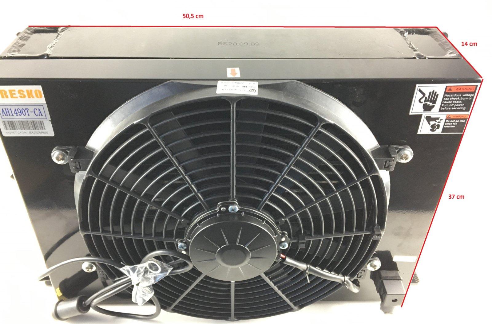 Охладитель гидравлического масла (радиатор)